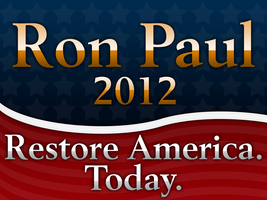 Ron Paul Gold Standard Sign by RonPaulDesigns
