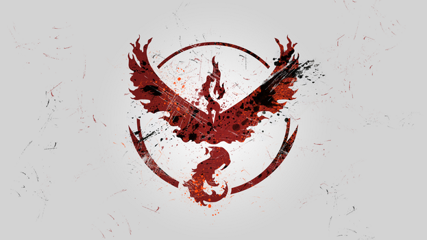 Team Valor Wallpaper - Pokemon GO by esvagy
