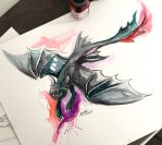 5- Flying Toothless by Lucky978