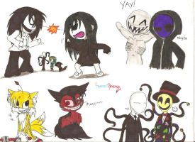 Some Creepypastas by SweetRevenge09