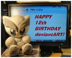 HAPPY 12th BIRTHDAY deviantART! by TheMan268