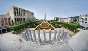 Mont des Arts by BenHeine