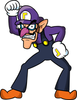 Waluigi time! by Blistinaorgin