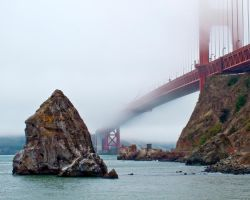 Foggy Bridge by oceaniclove