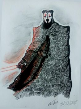 Darth Nihilus by xXdrawingguyXx