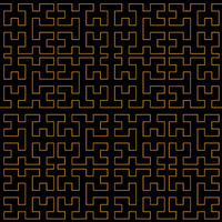 Fake Hilbert Curve by lylejk