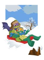 TMNT: Sectret Santa 2010 by NamiAngel