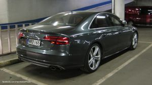 Audi S8 D4 2014 by ShadowPhotography
