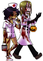 Trick Or Treat Collab Entry by HeartStringsXIII