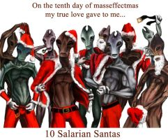 On the 10th day of Masseffectmas... by efleck