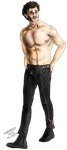 Hannibal - Will in Leather pants by FuriarossaAndMimma
