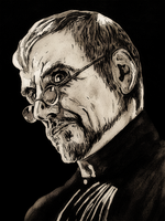 Lord Vetinari by monkeyswithbrushes