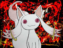 Kyubey by Toothless6reach