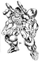 Optimus Primal by Inker-guy
