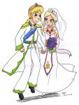 Adult ZeLink- Wedding by Niarahime