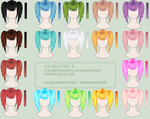 reupload + Colour Palettes by decomposing-lotus