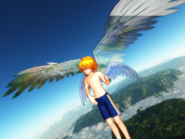 MMD Newcomer Luce-chan (without DL link) by JackFrost-LCDA