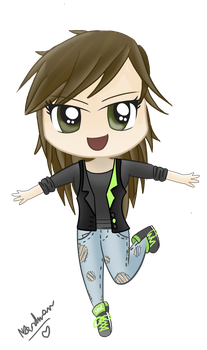 chibi me completed by MelodyBunny1