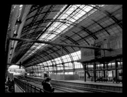 Amsterdam Grand Central by y2jabba