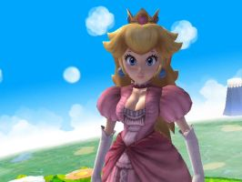 [Brawl Mod] Well-Endowed Princess Peach by BlackJax96