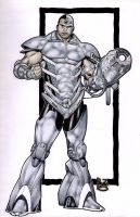 Cyborg- my reboot by PauloSiqueira