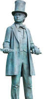 Isambard Kingdom Brunel PNG.. by Alz-Stock-and-Art