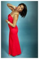 Lady in red by edsimms