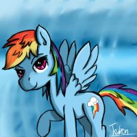 Dash in the Clouds by Aotsuken