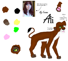 Colour Reference Sheet: Ali by Freakinblack