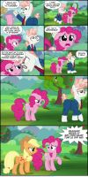 Svengallop Being Mean To Pinkie Pie by KTurtle