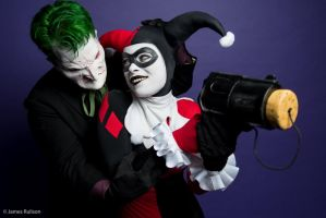 Joker and Harley Quinn - Focus by Enasni-V