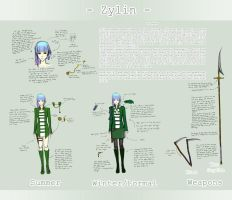 OC Reference: Zylin by ameides