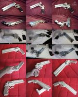 Vash the Stampede's Gun by JazzLizard