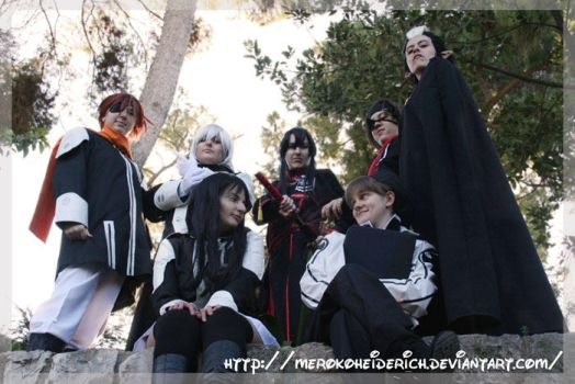 DGM: Cosplay Group by MerokoHeiderich