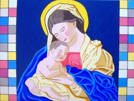 Madonna and child by wwwEAMONREILLYdotCOM