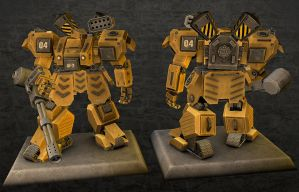 Heavy Gear: Kodiak v2.0 by panick
