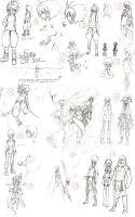 Project Aurel: Old Sketches by Lanmana