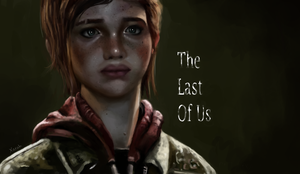 The Last Of Us Ellie by Xa-rah