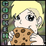 Chokolate chip cookie~ by Toxic-Gengar