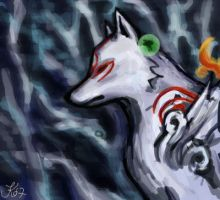 Okami: Ammy and Issun by Jassikorandoms