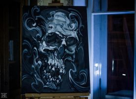 Skull_2 by EGOR-DOG