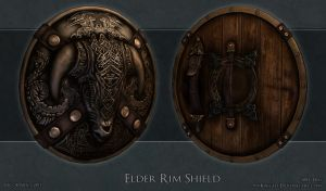 Elder Rim Shield by 9thKnight
