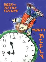 Marty Mcfly and clock by FangirltoIsengard