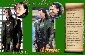 Loki: Thor vs. Avengers (typical outfit) by D-AMJ-C