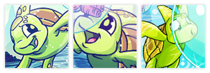 The Turtle Club Icon Set by elephanh