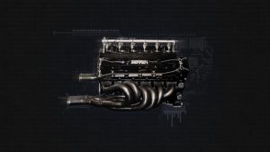 Widescreen WP 1995 F1 Engine by toteZitrone