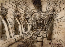 Hall of the lizard god by headconc