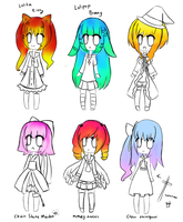 Adoptables ( 50 points only ) by Tsundere-Queen