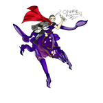 Colored Shep and Rachni Queen by batman-jesus