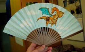 Messenger Dragonite Fan by SarurunKamui